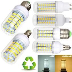 1/4/10Pcs B22 E27 E14 G9 G10 7W-30W 5730 LED Corn Bulb Light