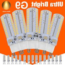 10-100PCS G9 10W LED Corn Light Bulb SMD 3140 Spotlight Lamp