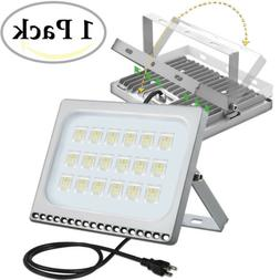 100 Watt Slim LED Flood Lights Cool White Indoor Outdoor Spo