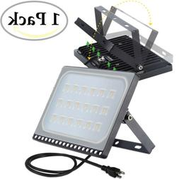 100 Watt Slim LED Flood Lights Warm White Indoor Outdoor Spo