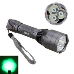 10000Lm Spotlight Tactical Hunting Flashlight Green Red LED