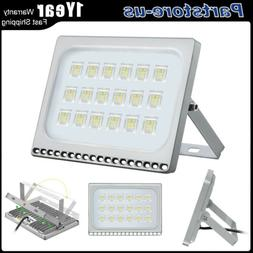 100W LED Flood Lights Outdoor Security SpotLights Outdoor Ga