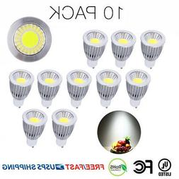 10Pack 12W GU10 COB LED Spotlight Light Bulbs   Lamps Warm C