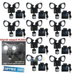 10xDual Security Detector Solar Spot Light Motion Sensor 22