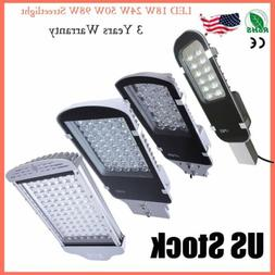 12W 24W 50W 100W LED Outdoor Road Street Light Yard Garden S