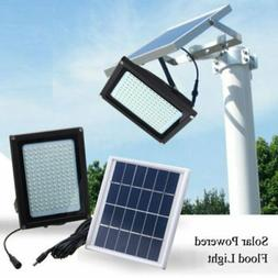 150 LED Solar Power Flood Spot Light Outdoor Garden Yard Sec