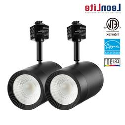 LEONLITE 17.5W  Dimmable LED Black Track Light, Spotlight Fi