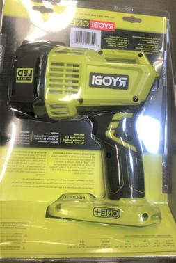 RYOBI 18V ONE+ Hybrid LED Spotlight  with 12V Automotive Cor