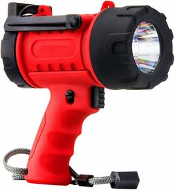 18W 1000L Rechargeable Flashlight Spotlight LED Handheld Sea