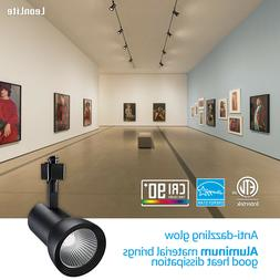 18W Aluminum LED Track Light Head, Dimmable CRI90+ H Type Sp