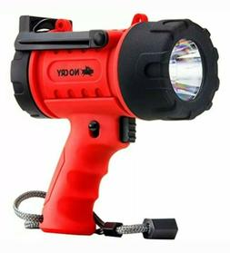 18W Waterproof Rechargeable Flashlight  With 1000 Lumen LED,