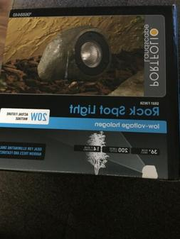 Portfolio Low Voltage Landscape Rock Spot Light Gray 20W Hal
