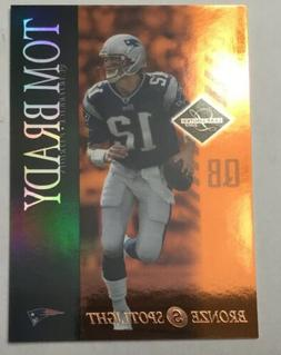 "2003 Leaf Limited BRONZE spotlight ""TOM BRADY"" #59 RARE SSP"
