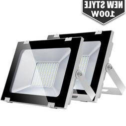 2x 100W LED Flood Light Outdoor Lighting Spotlight Garden Ya