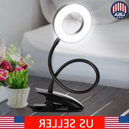 360 rotate dimmable flexible usb clip on