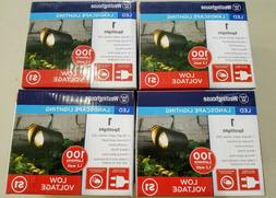 4 - Westinghouse LED Landscape Lighting Spotlights 100 Lumen