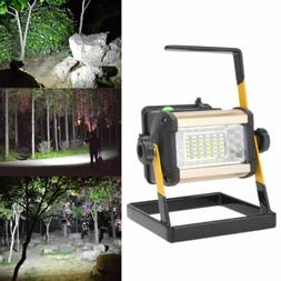 50W 36 LED Rechargeable Floodlight Lamp Portable Spotlight F