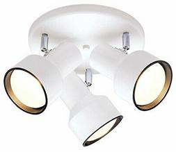 Westinghouse 6632600 Three-Light Multi-Directional Flush Mou