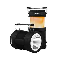Nebo 6908 Big Poppy 300 Lumen Lantern Flash Light USB Rechar