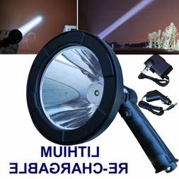 120000Lumen 800W LED Hunting Spotlight Hand Held Torch Spot
