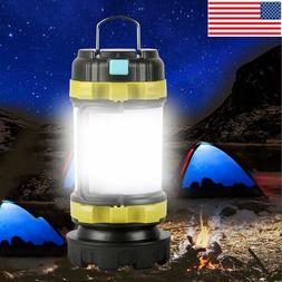 85000LM LED Camping Lantern Rechargeable Work Light Flashlig