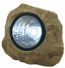 Moonrays 91211 Solar Powered Rock Spotlight with Key Hider G