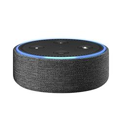 Amazon - Case For Amazon Echo Dot - Charcoal
