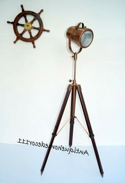 Antique Finish Copper Color Spotlight Search Light with Trip
