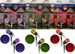Brand New Gemmy 10 in LED Lightshow Projection Kaleidoscope