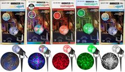 Brand New Gemmy 10 in. LED Lightshow Projection Kaleidoscope