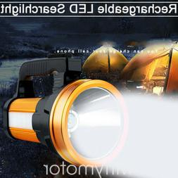 Bright LED Searchlight Rechargeable Handheld Flashlight Spot