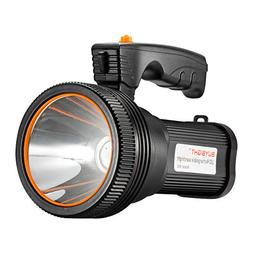 BUYSIGHT Bright Rechargeable Searchlight handheld LED Flashl