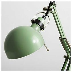 Classic Work Lamp for Desk in Vintage Turquoise Green for Ho