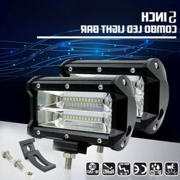 Combo 5 Inch 672W LED Work Light Spotlight Off-road Driving
