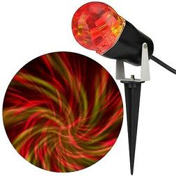 CometSpiral Red and Yellow LED Lightshow Projection Spotligh