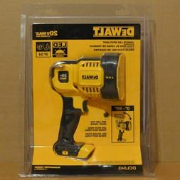 DEWALT DCL043 20V Max Jobsite LED Spotlight - Yellow