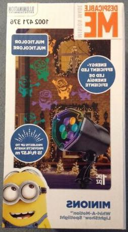 Gemmy Despicable Me Whirl-a-motion Christmas Outdoor Stake L