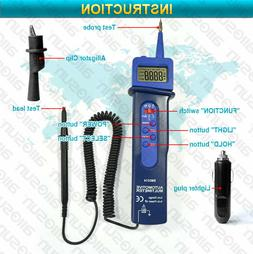 Digital Automotive DMM Pen Type Multimeter Autorange DC AC V