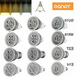Dimmable LED Spotlight Bulbs GU10 MR16 E27 E14 9W 12W 15W 11
