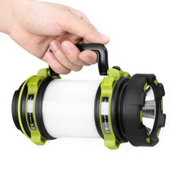 Dimmable LED Spotlight USB Rechargeable Camping Lantern Sear
