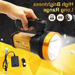 Fits Portable Handheld Rechargeable flashlight LED Searchlig