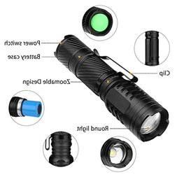 Glumes Flashlight, 450 LM Ultra Bright LED Zoomable Handheld