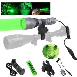Green Light LED Hog Pig Deer Varmint Night Hunting Flashligh