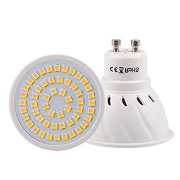 gu10 54led 2835smd warm white