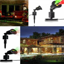 Halloween Christmas LED Projector Lights Mini Waterproof Red