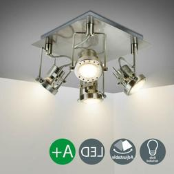Industrial LED Track Light Fixtures Adjustable Wall Mount Ce