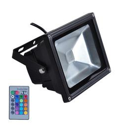 IP65 Waterproof 10W RGB LED Outdoor Lighting Spotlights with