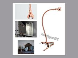 IKEA JANSJO LED Work Office Desk Clamp Spotlight COPPER Colo