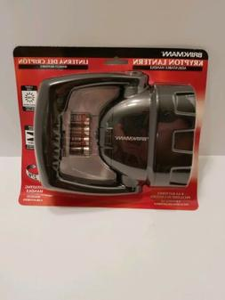 BRINKMANN KRYPTON SPOTLIGHT FLASHLIGHT ADJUSTABLE HANDLE LAN