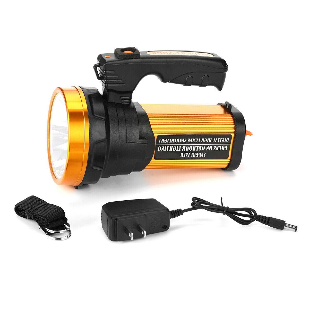 Rechargeable Bright Searchlight Handheld Flashlight